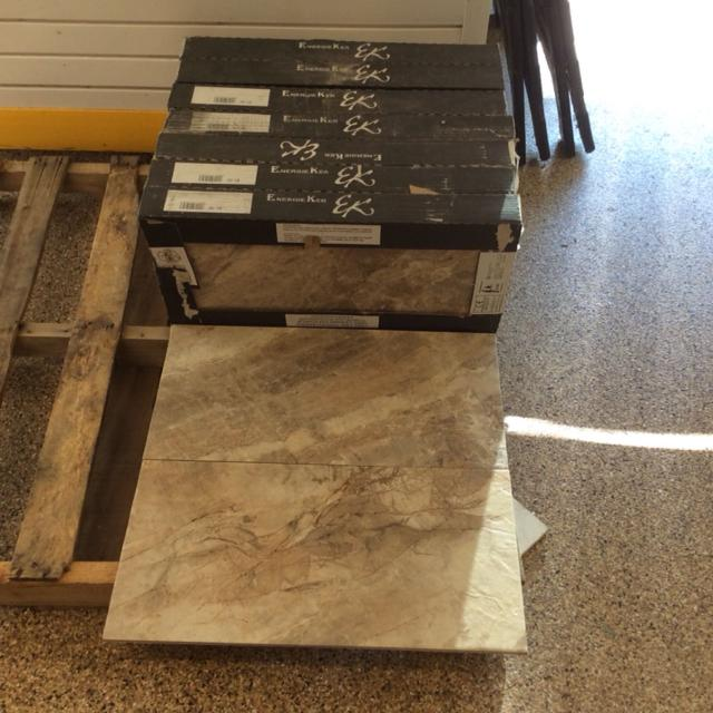 7 Unopened Boxes 98 Sq Ft Gorgeous 12 X 24 Happy Floors Sonoma Valley Porcelain Tile From Italy