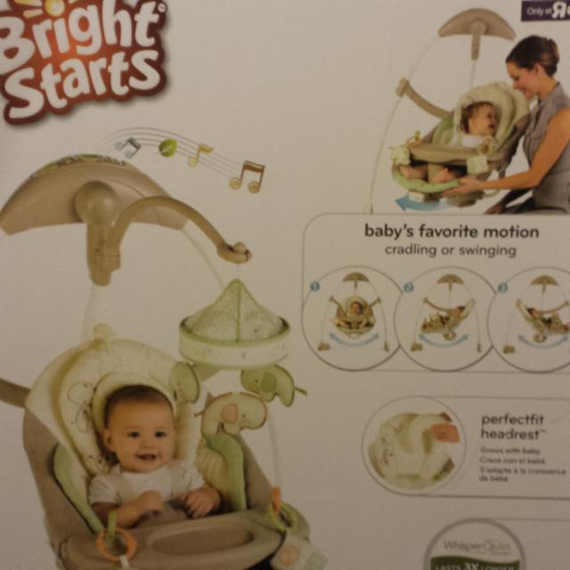 Find More Bright Starts Ingenuity Signature Edition Cradle And