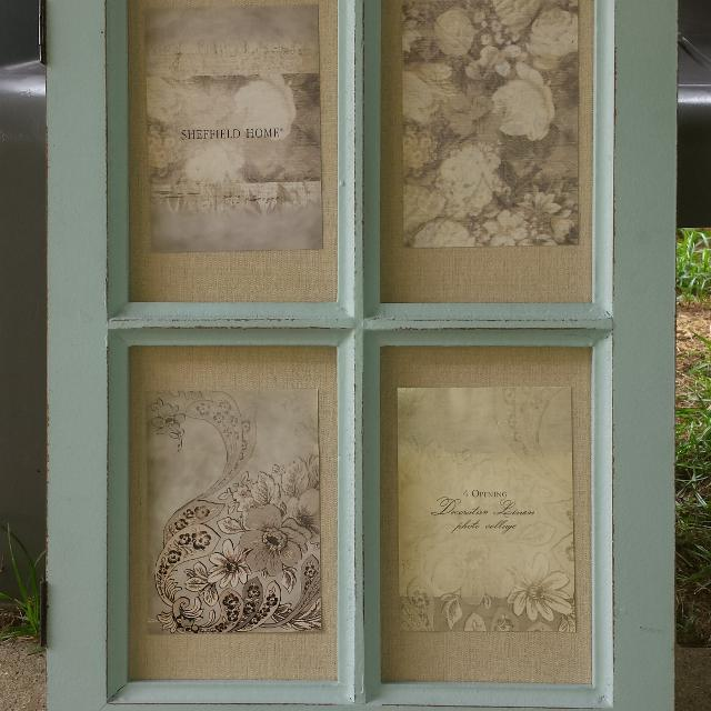 Find more Sheffield Home 4 Opening Decorative Linen Photo Collage ...