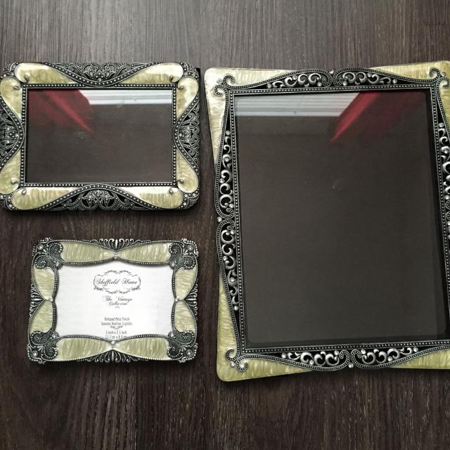 sheffield home vintage collection frames never used gorgeous
