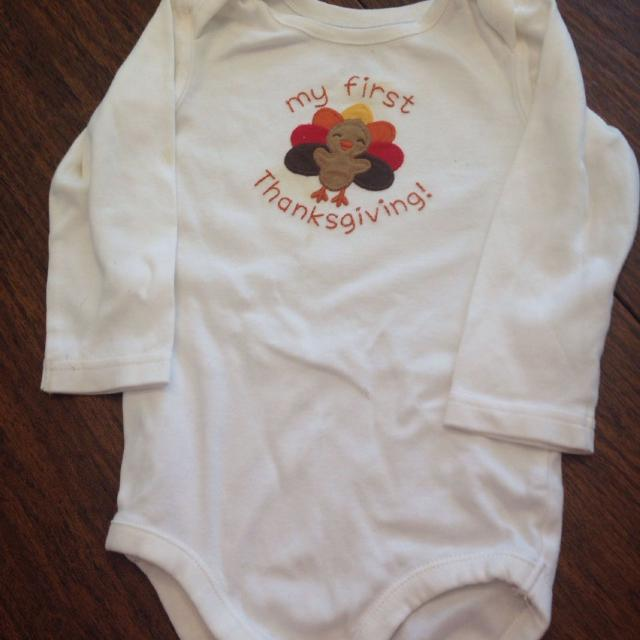 73aeb9597 Find more Gymboree 12–18 Months Girl Boy My First Thanksgiving Ivory ...
