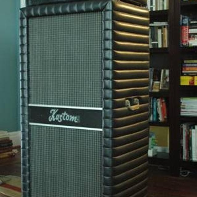 Best 1972 Kustom 250 Bass Amp And Cabinet. For Sale In