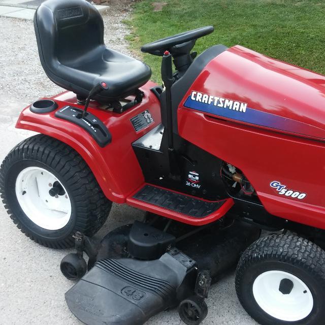 Craftsman Gt 5000 Garden Tractor