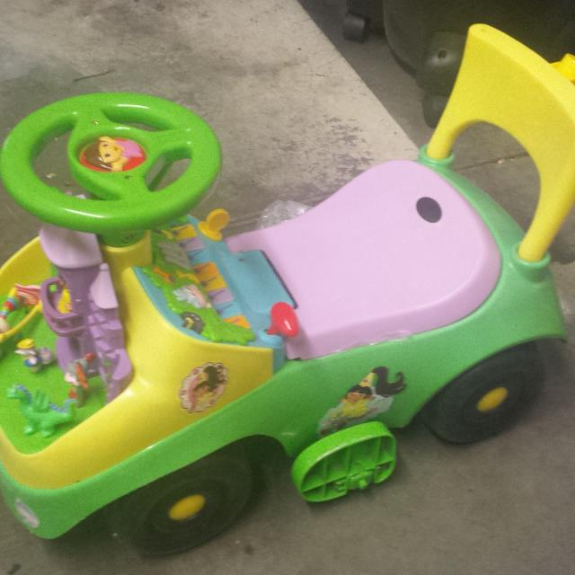 Find more Price Change Dora Sit And Ride. Seat Lifts Up For Storage ...