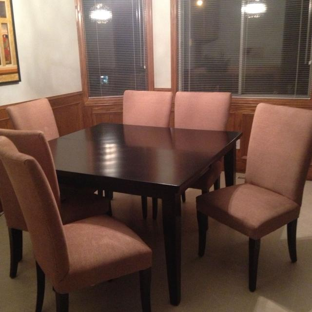 Best Ashley Furniture Kitchen Table With Chairs Solid Wood Oversized Make It Great For Sitting Around The Tbl Comes Leaf In
