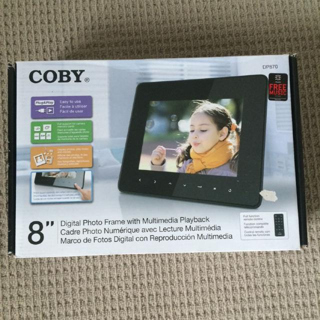 Find more Coby Digital Picture Frame for sale at up to 90% off
