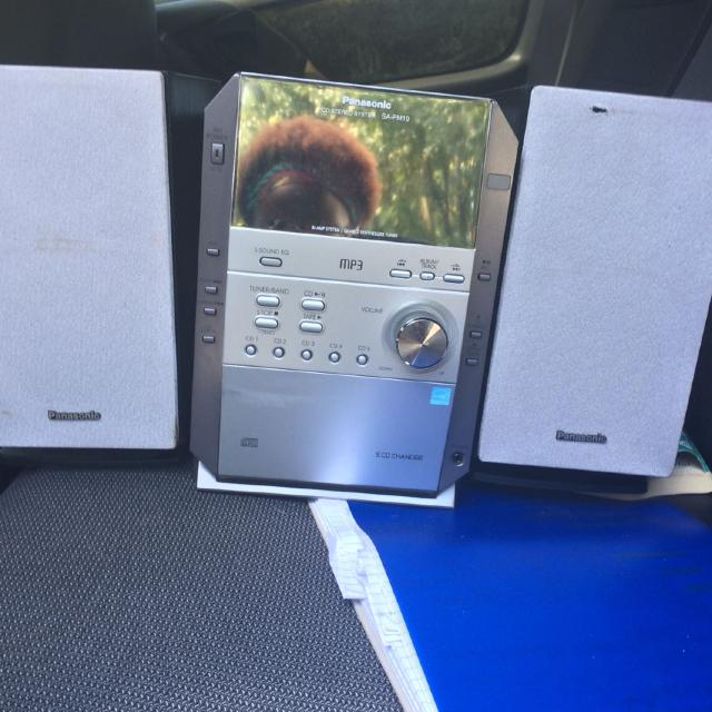 Find More 5 Cd Changer Panasonic Stereo Old School Boxy In Great