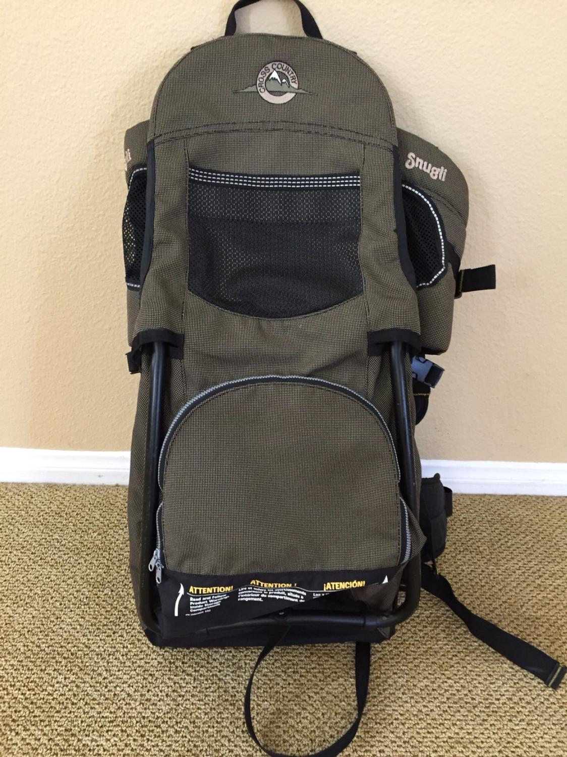 c41aa22c84d Snugli Cross Country Backpack Child Carrier