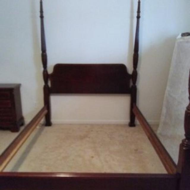 Best Cherry Bedroom Suite Queen Size Rice Bed And Mattress For Sale In Greenville South