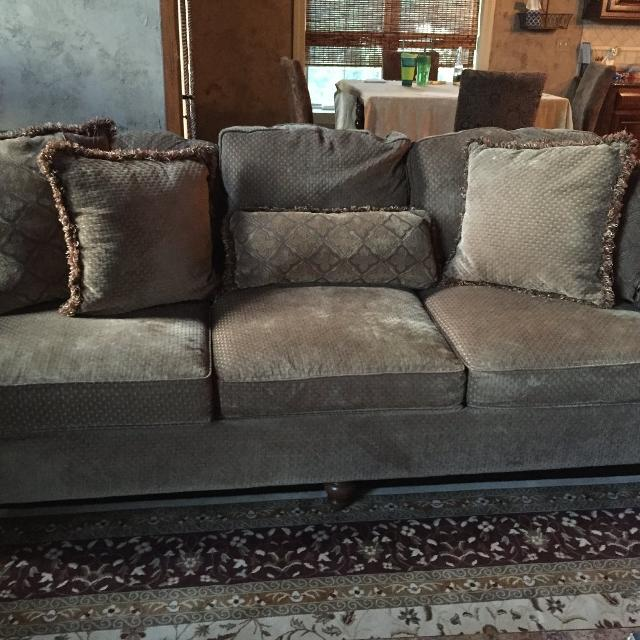 Find More Bernhardt Sofa Chair And A Half And Ottoman For