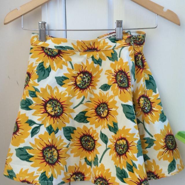 718151f6e Best American Apparel Sunflower Print Denim Circle Skirt for sale in  Yorkville, Ontario for 2019