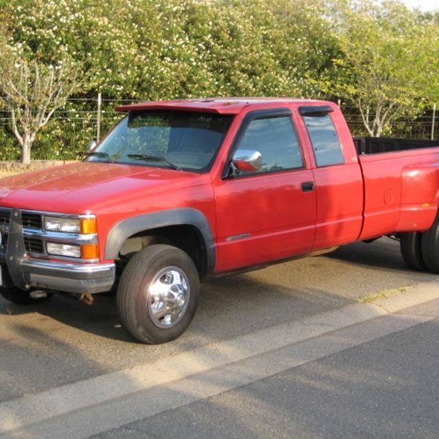 1994 Chevrolet Ext Cab 3500 4X4 1 Ton Dually