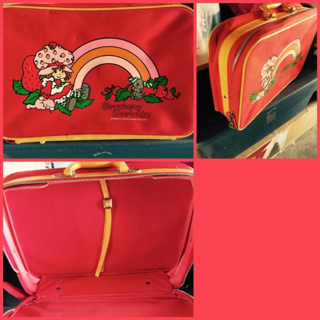 Best Vintage Strawberry Shortcake Suitcase For Sale In