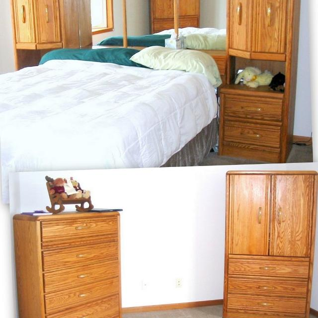 Queen bedroom sets with armoire for King size bedroom sets with armoire