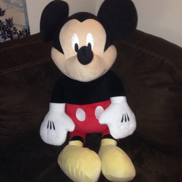 Find More Nwot Disney Baby Jumbo Mickey Mouse Plush Almost 3 Feet
