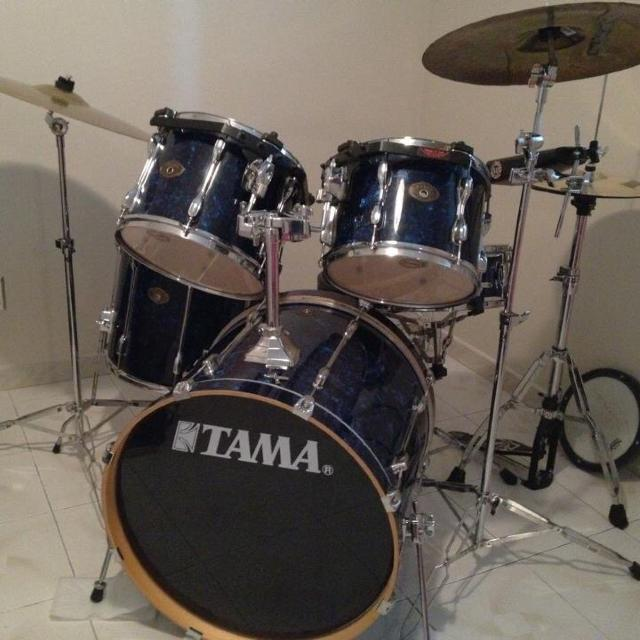 TAMA Rockstar 5 Piece Drum Set PRICE DROP