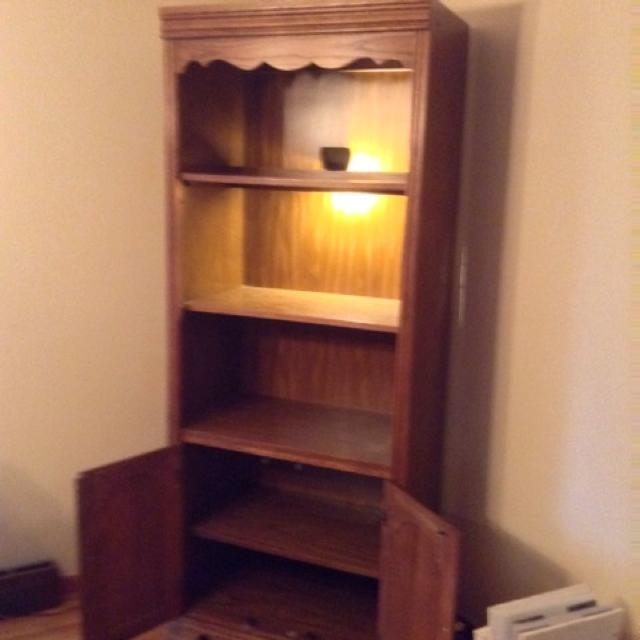 Broyhill Lighted Bookcase