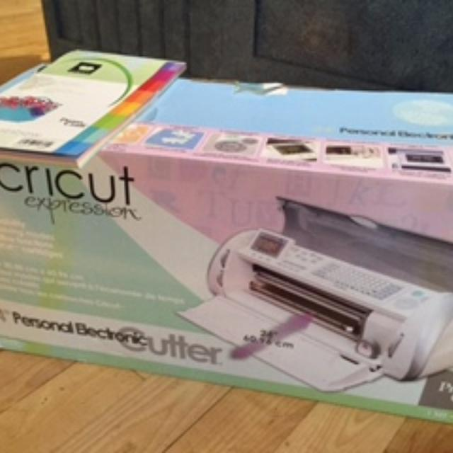 Cricut Expression Ready to Use