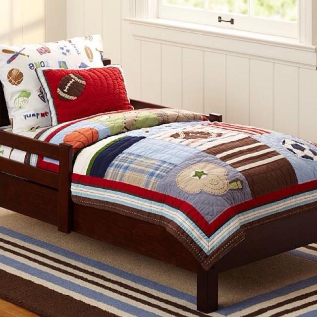 Find more Pottery Barn Kids Junior Varsity Quilt for sale at up to ... : barrie quilt store - Adamdwight.com