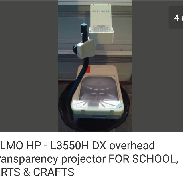 Find More Reduced 30old School Transparency Overhead Projector