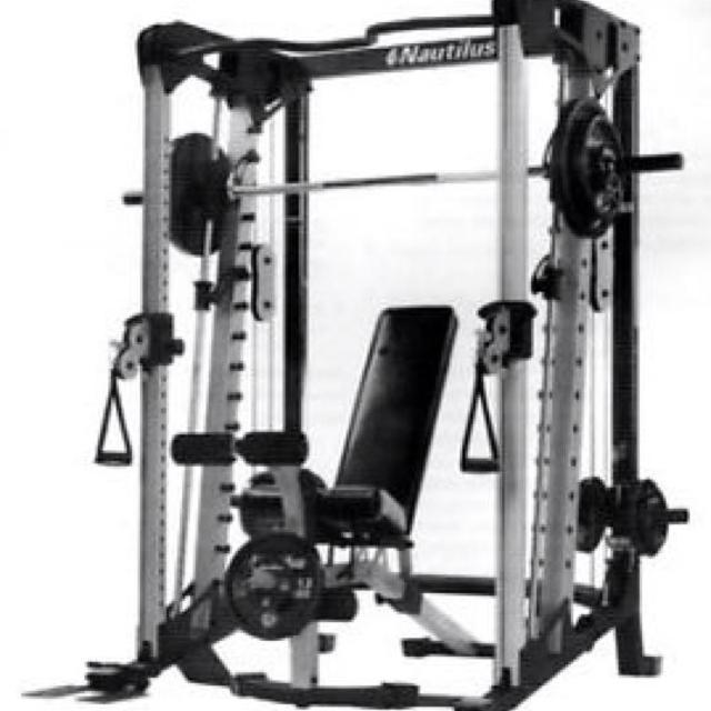 Find more nautilus smith machine all in one home gym for