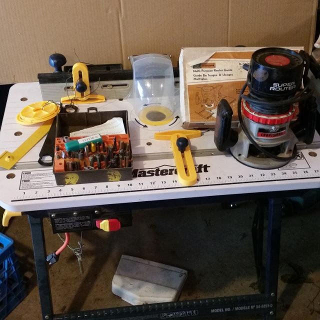 Best Never Used Mastercraft Router Table For