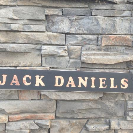 Rustic wooden Jack Daniels sign for sale  Canada