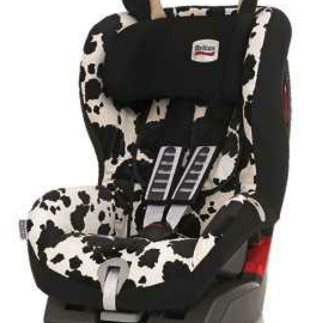 ISO Cow Print Car Seat
