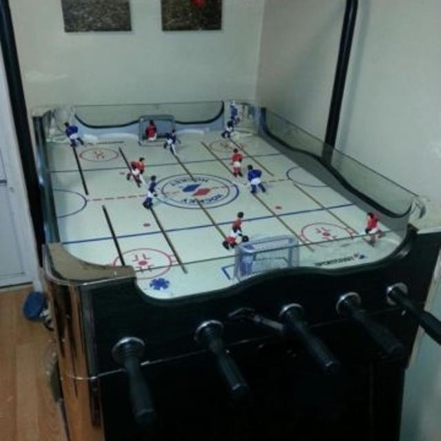 Find More Sportcraft Electronic Rod Hockey Table #ont