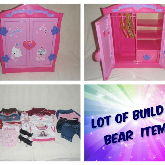 47202ad9936 Find more Lot Of Build A Bear Clothes
