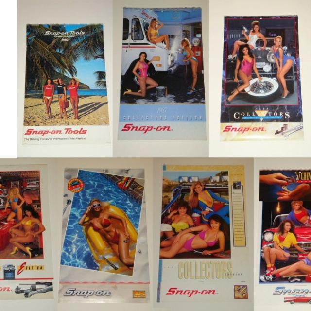 Snap-on Tools Pin Up Calendars