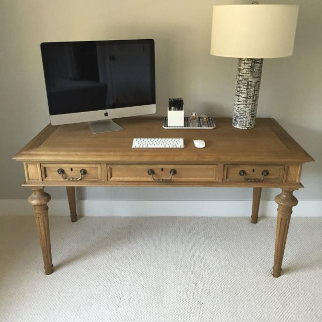 Restoration Hardware French Partners Desk Brand New