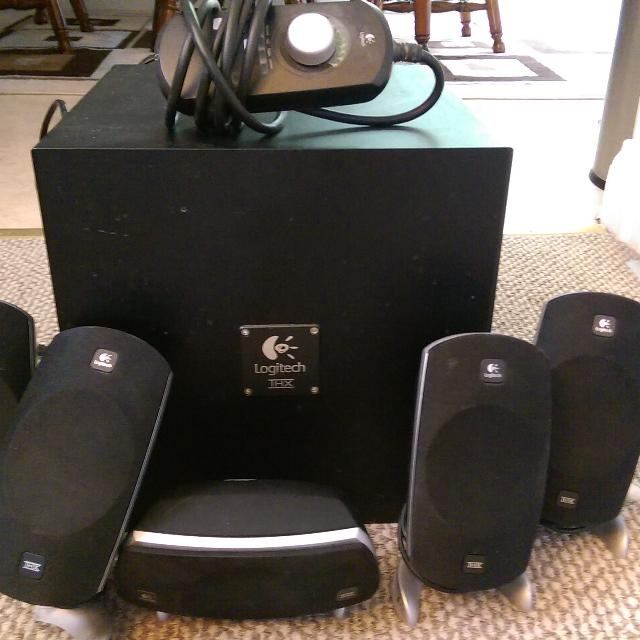 d15be538aee Find more Logitech Z-5300 Surround Sound Computer Speakers for sale ...