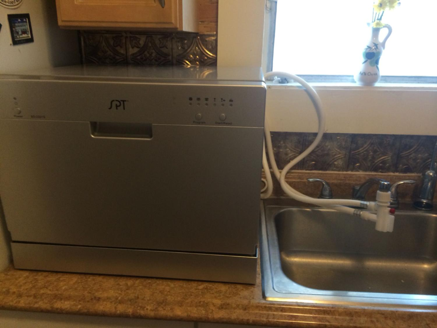 $175 STILL AVAILABLE!!!! Countertop, stainless steel dishwasher