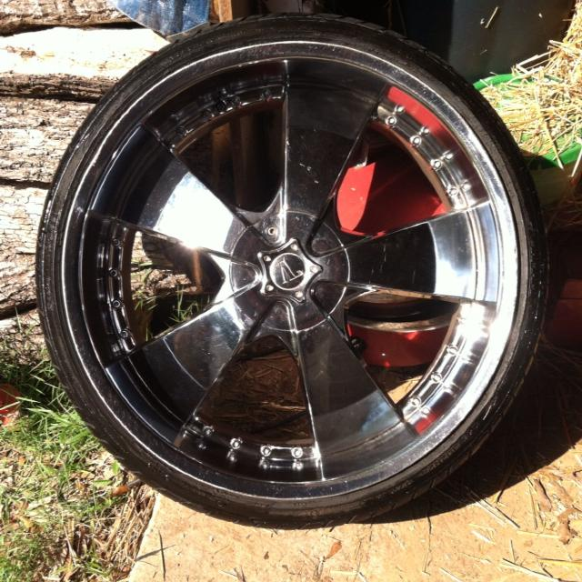 Best 24 Inch Rimswheels Ford 5 Lug I Also Have Adapters For 5 Lug