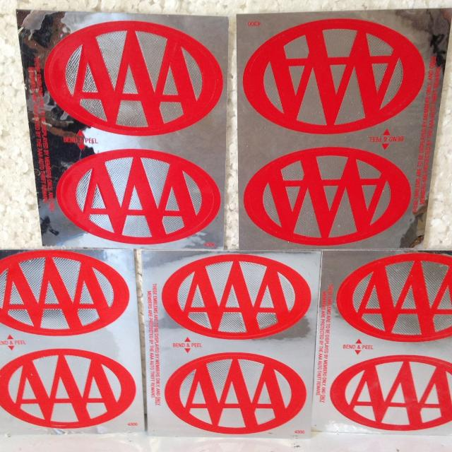 Triple A Window Stickers