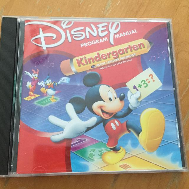 Disney Mickey Mouse Kindergarten Interactive Learning CD, for the computer
