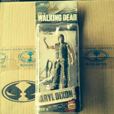 The Walking Dead Daryl Dixon figure, used for sale  Canada