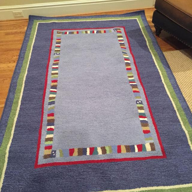 Find More Pottery Barn Kids Hudson Rug For Sale At Up To