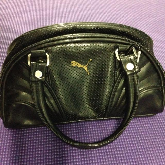 Sleek And Sporty Puma Mini Retro Bowling Bag Purse