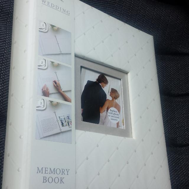 Brand New Hallmark Wedding Memory Book