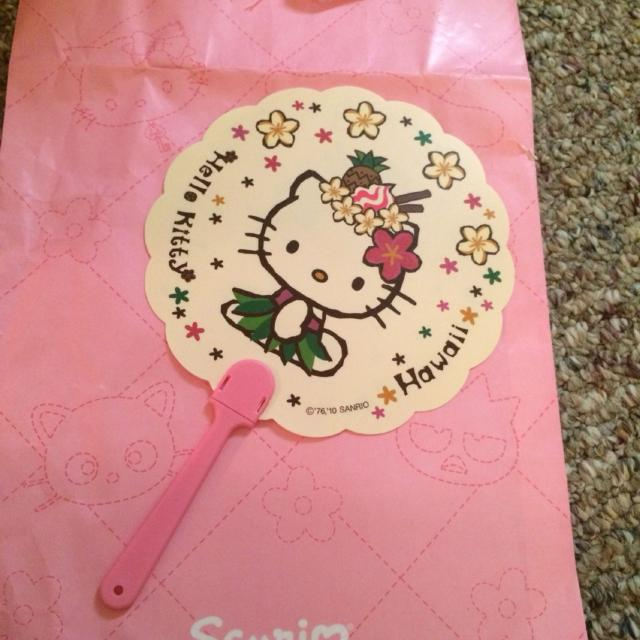 38dfbe5c4c Find more Reduced Beautiful New Sanrio Hello Kitty Fan From Sanrio ...