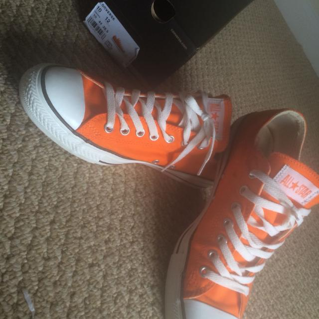 a85d94573a2e Best Tennessee Orange Converse All Star. Men Size 10