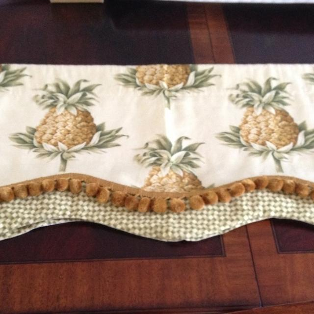 Country Curtains country curtains on sale : Best Set Of 2 Country Curtains Pineapple Valances for sale in ...