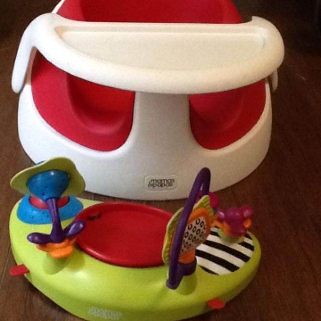 Mamas And Papas Baby Snug Floor Seat And Activity Tray 25