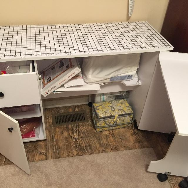 Sewing Table From Joann S Fabric Price Cut
