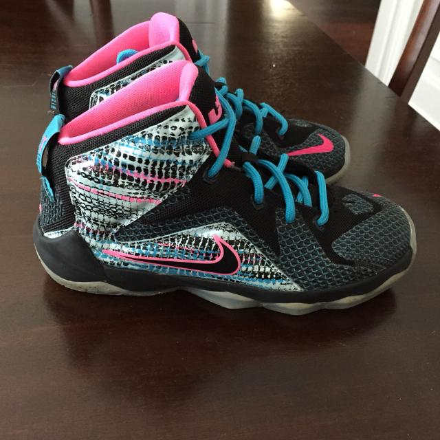 buy online e9608 d7931 LeBron 12 Nike shoes size 1 these are still at kids footlocker for 160.00