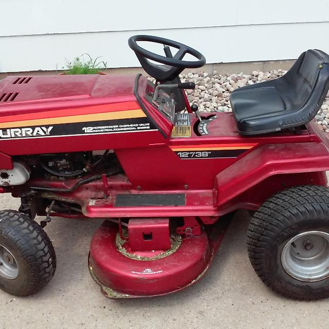 murray lawn mower repair manual