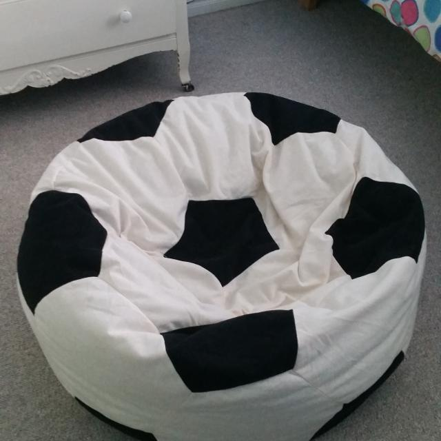 Beanbag Chair Soccer Ball Pattern