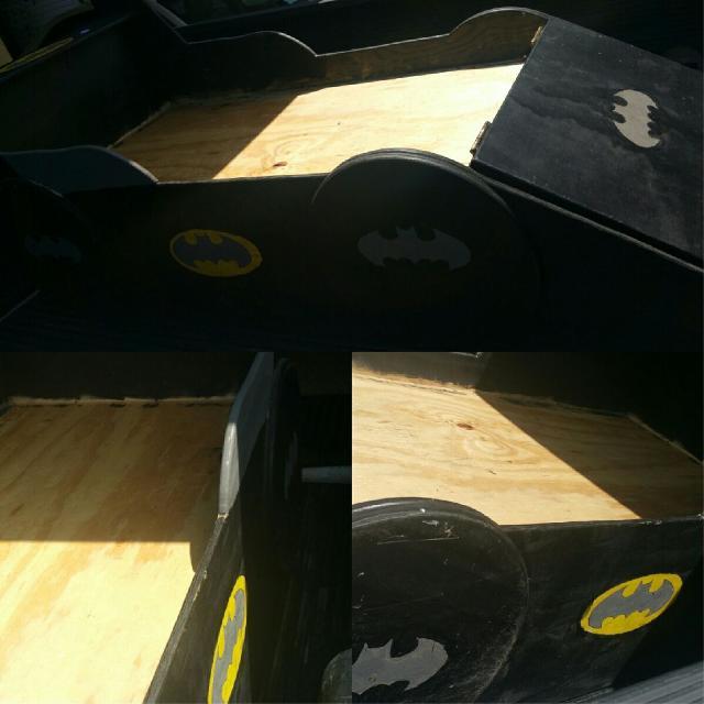 best custom batmobile toddler bed for sale in galveston county